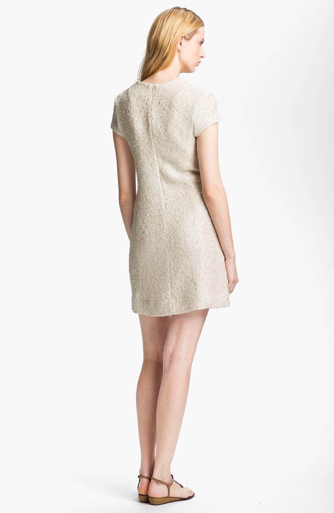 Alternate Image 2  - L'AGENCE Bouclé Shift Dress