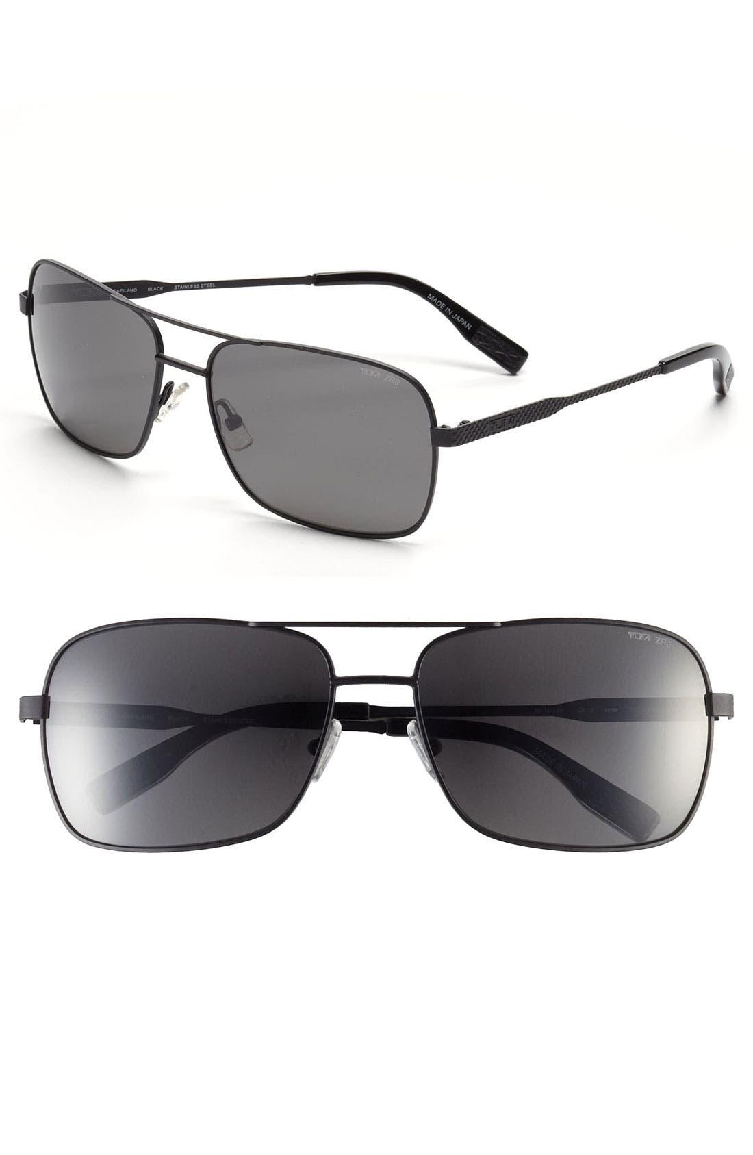 Alternate Image 1 Selected - Tumi 'Capilano' 59mm Polarized Sunglasses