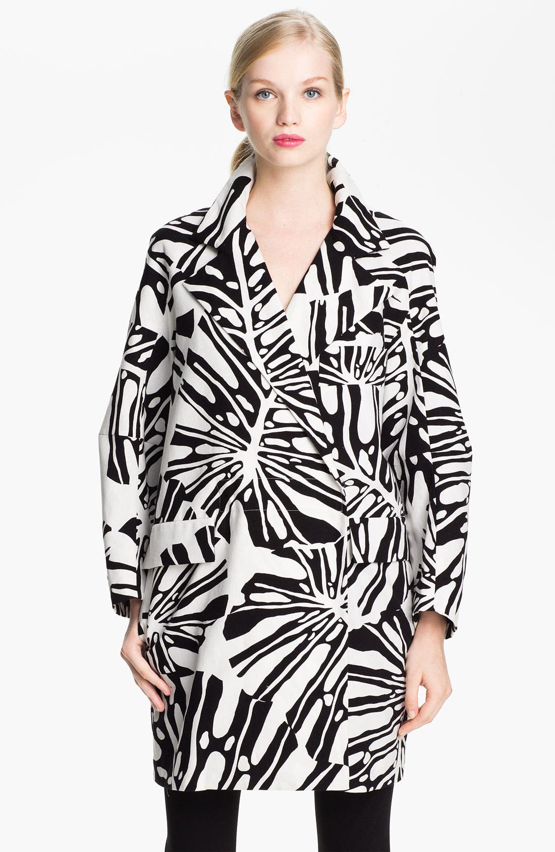 Alternate Image 1 Selected - Diane von Furstenberg 'Laurel' Double Breasted Jacket