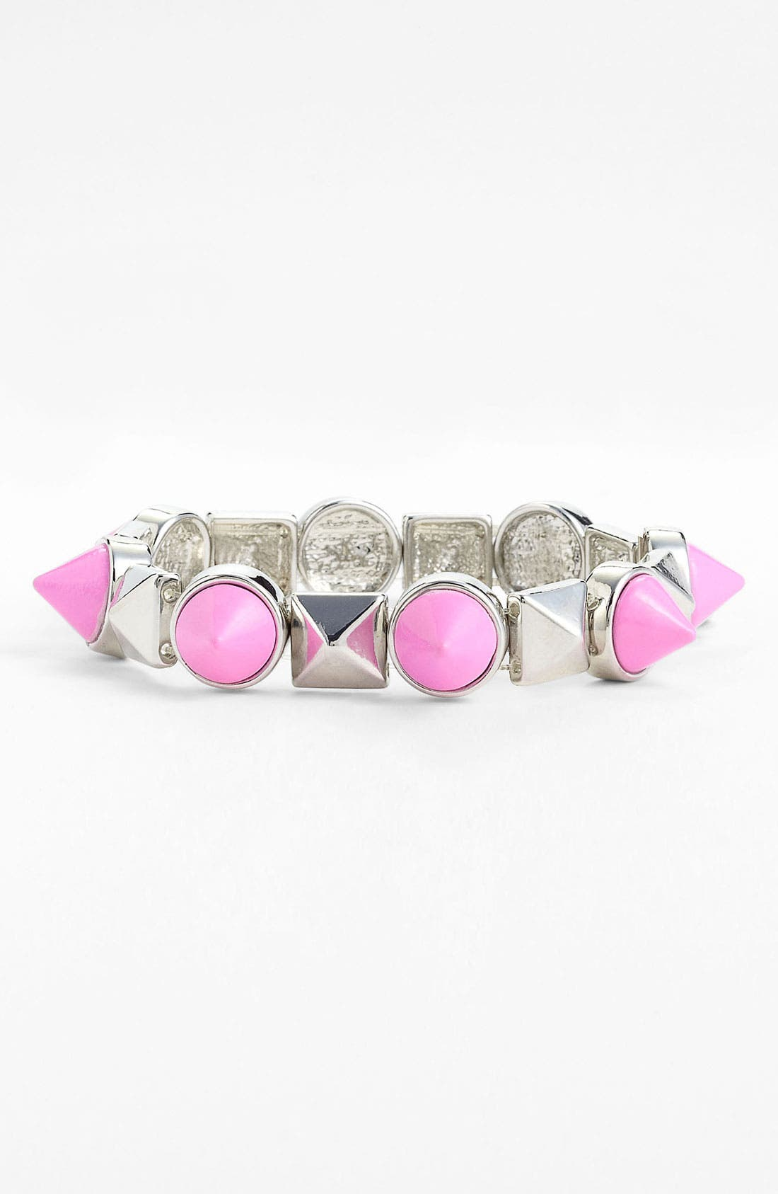 Alternate Image 1 Selected - Spring Street Studded Stretch Bracelet (Nordstrom Exclusive)