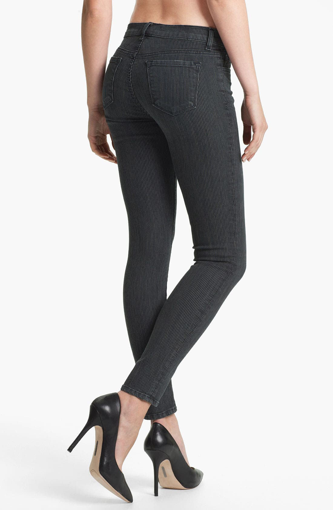 Alternate Image 2  - J Brand Super Skinny Stretch Jeans (Belmont)
