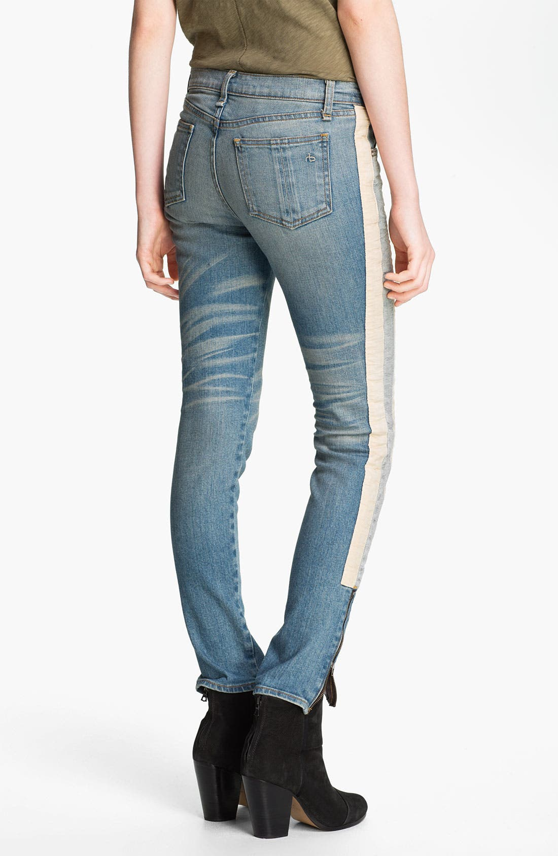 Alternate Image 2  - rag & bone/JEAN 'The Skinny Racer' Jeans