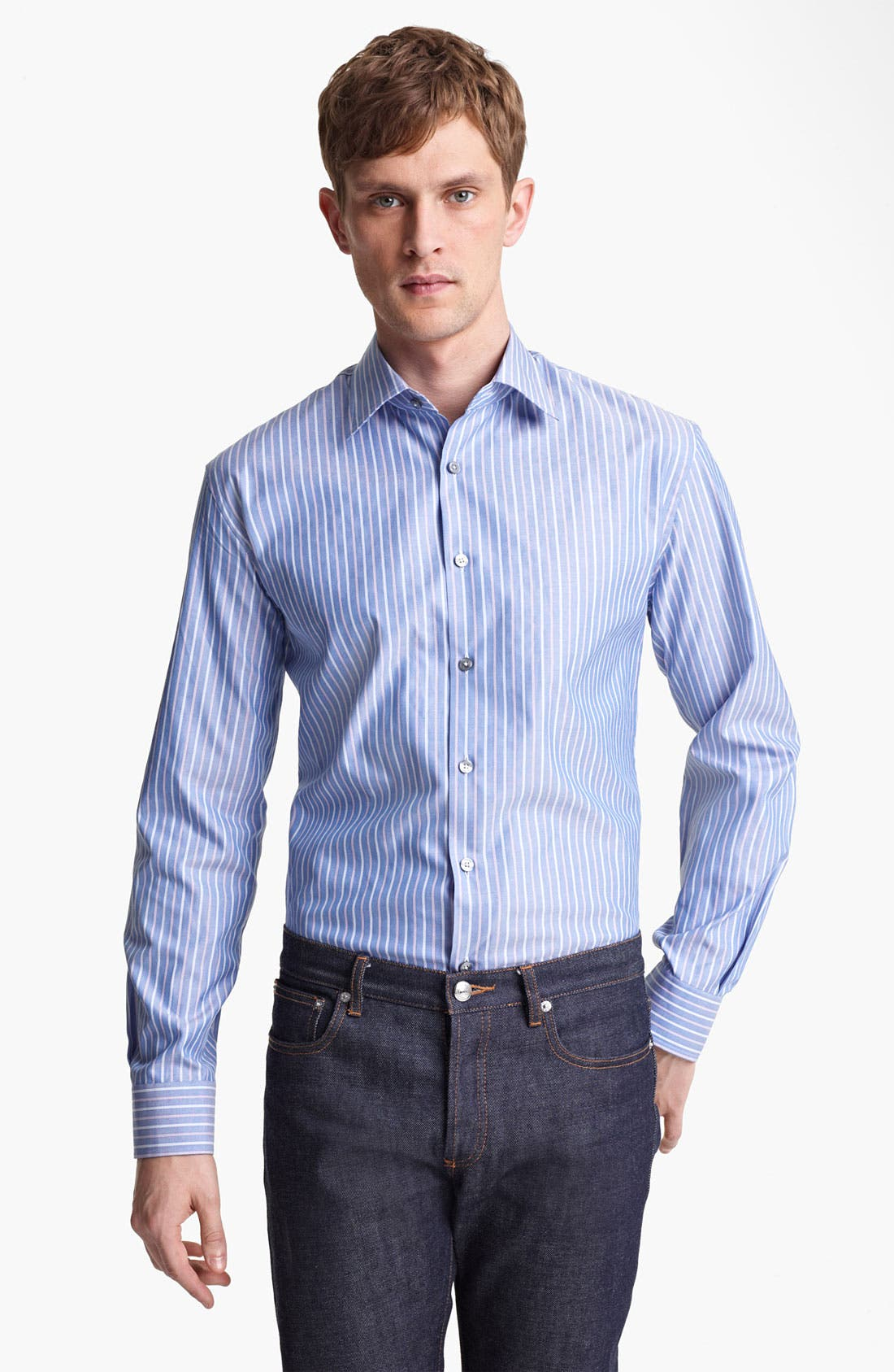 Alternate Image 1 Selected - Paul Smith London Stripe Shirt