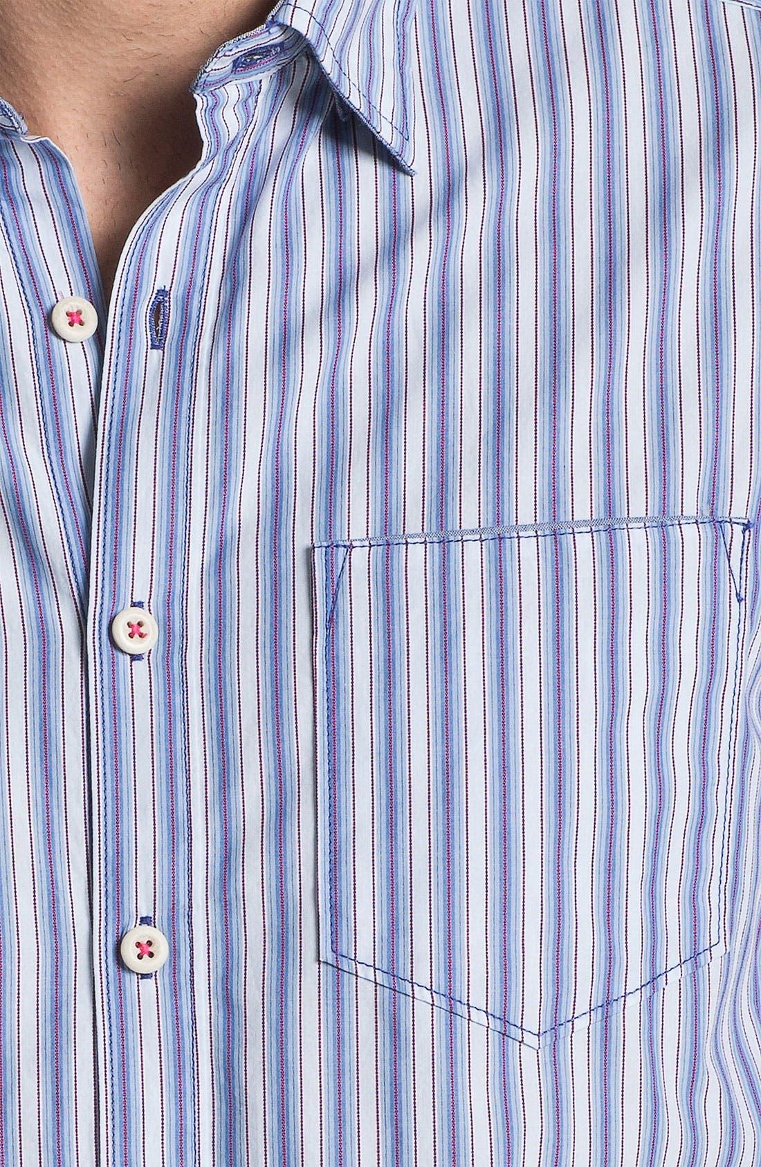 Alternate Image 3  - Tommy Bahama Denim 'Stripe Tease' Sport Shirt