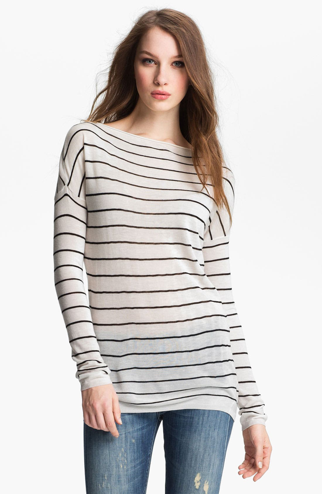Main Image - Vince Stripe Boatneck Sweater