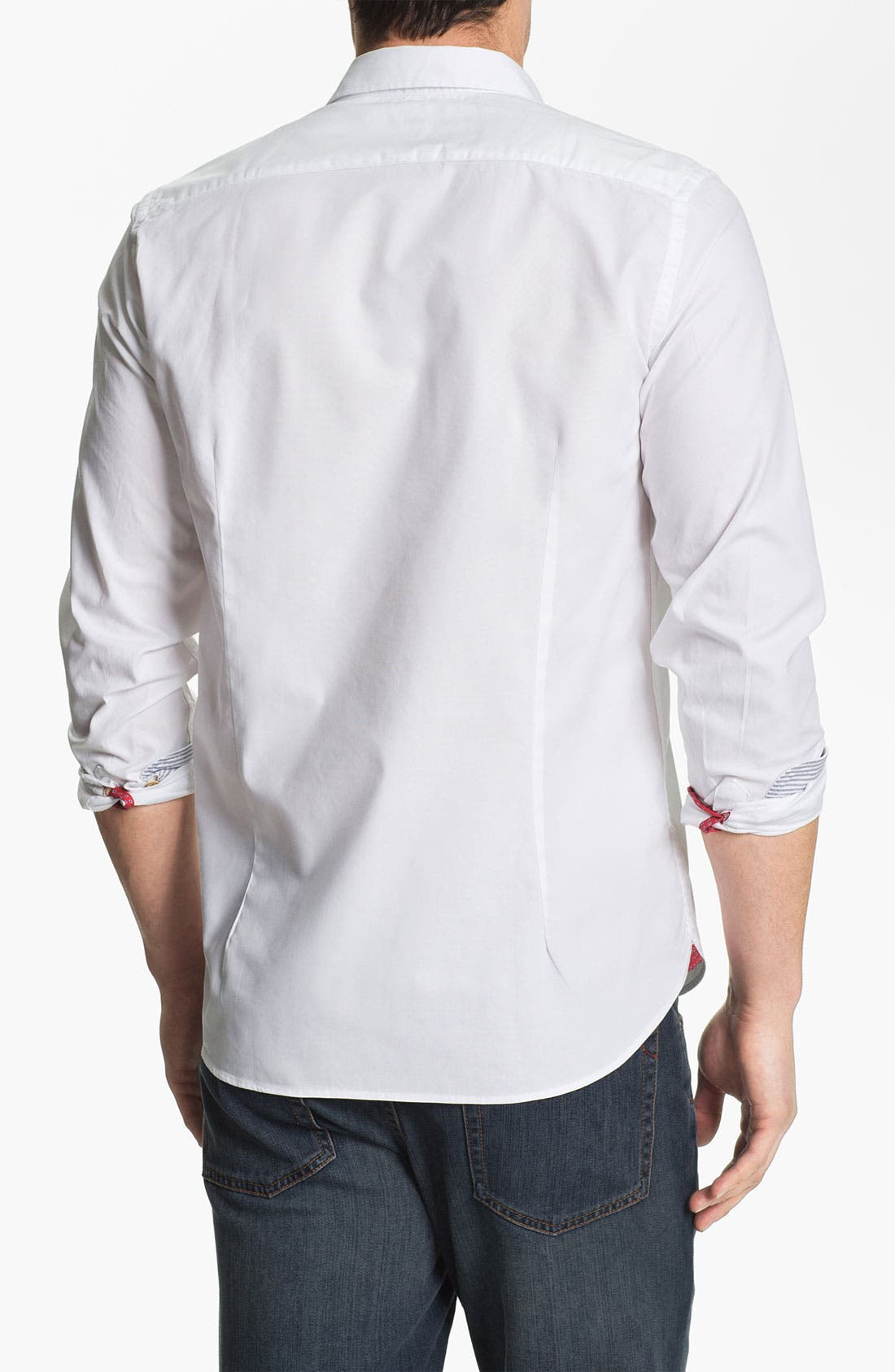 Alternate Image 2  - Ted Baker London 'Oxbid' Trim Fit Sport Shirt