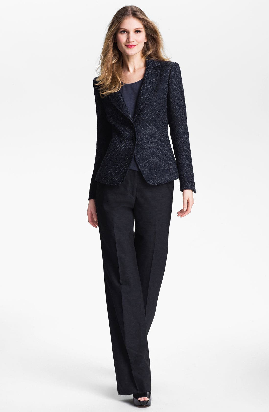 Alternate Image 4  - Santorelli 'Gabriella' Wool Blend Trousers
