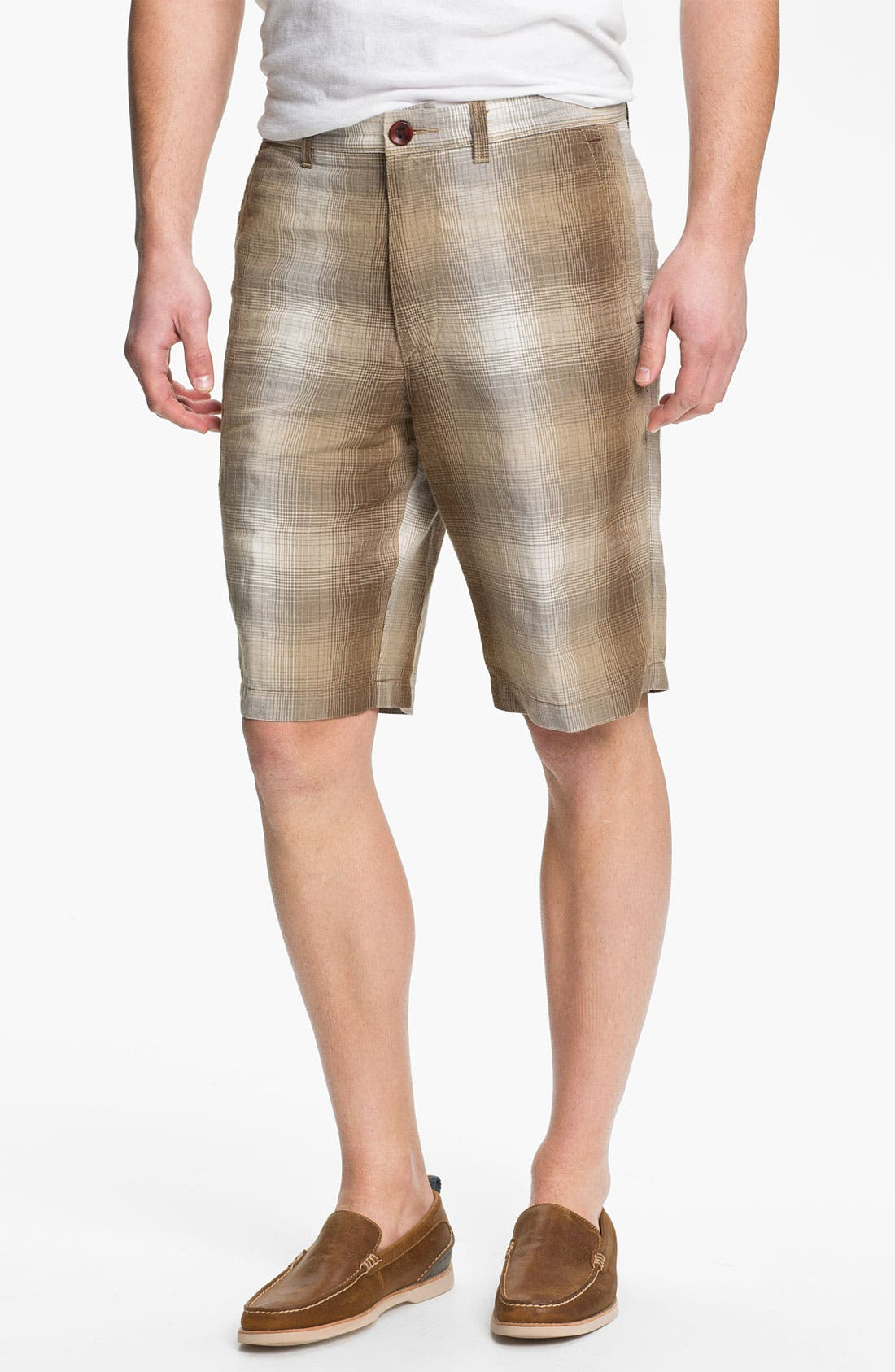 Main Image - Tommy Bahama 'Balken' Plaid Shorts