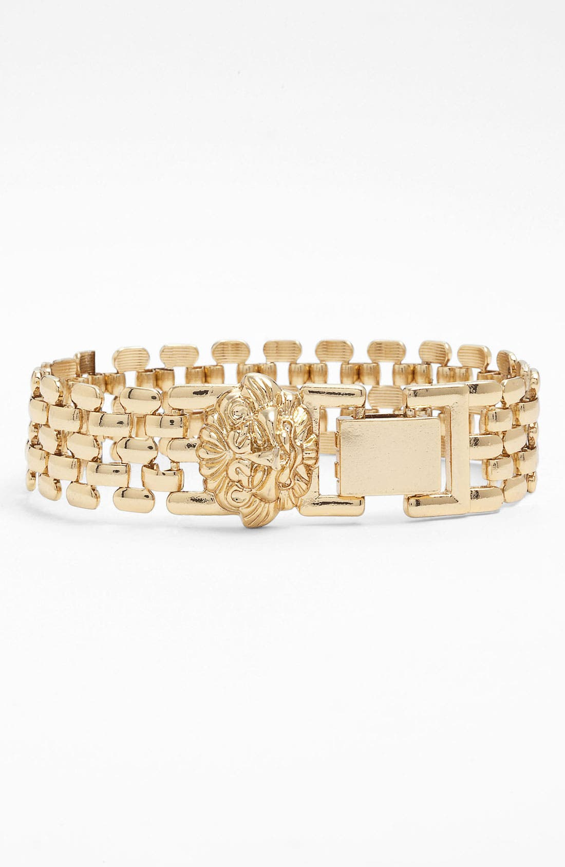 Alternate Image 2  - Anne Klein Lion's Head Bracelet