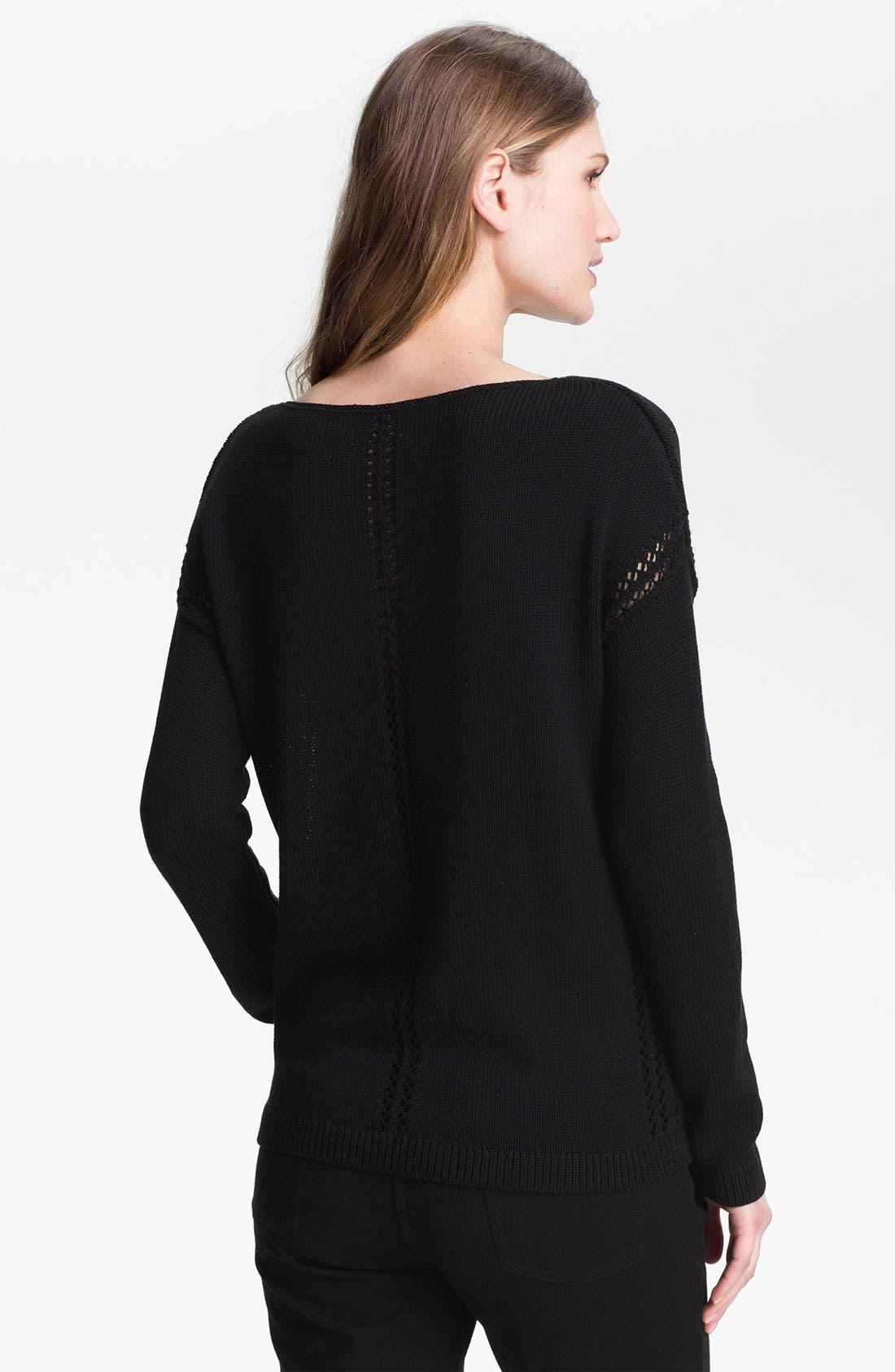 Alternate Image 2  - Nordstrom Collection 'Harper' Sweater