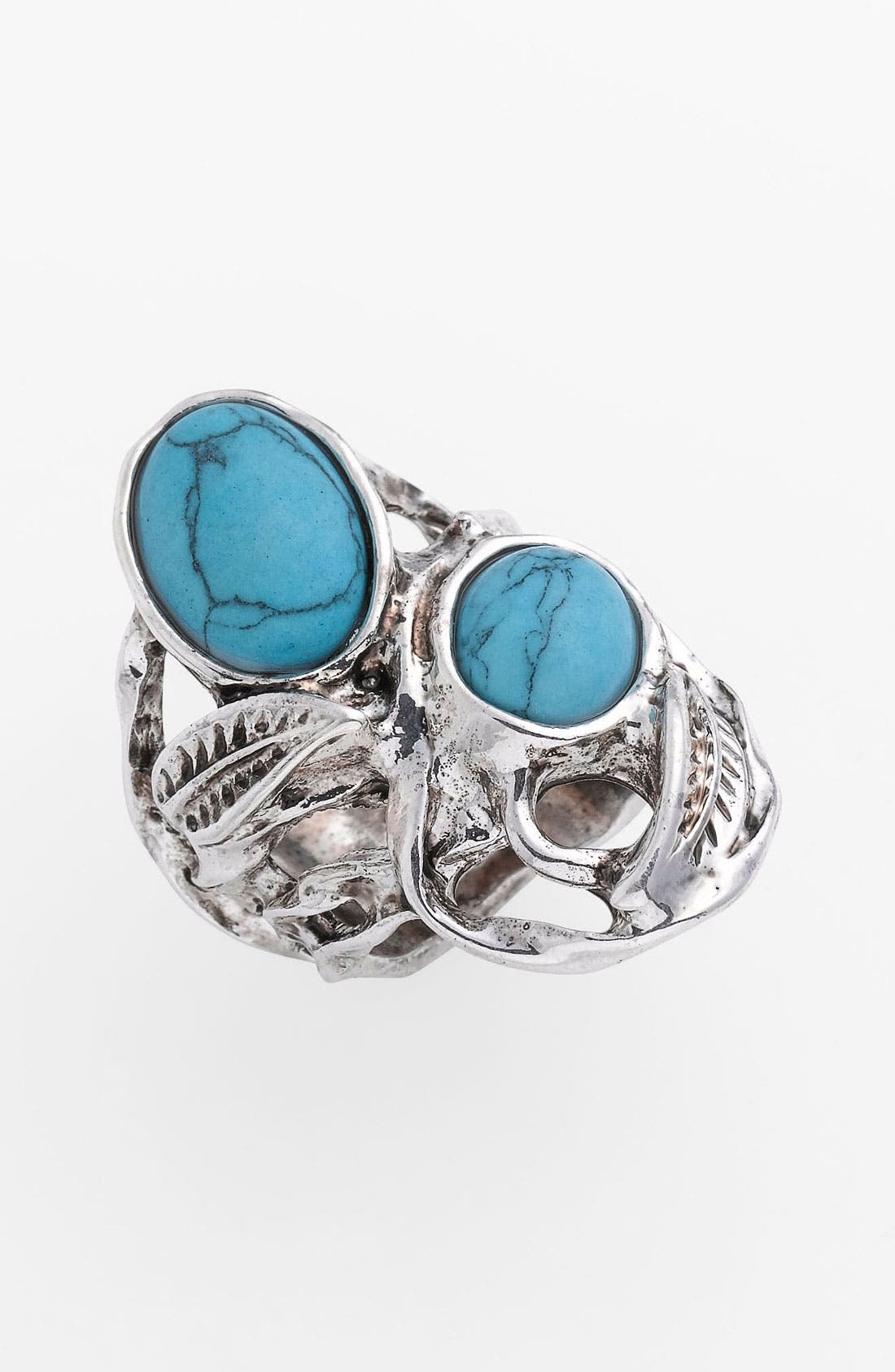 Alternate Image 1 Selected - Carole Turquoise Bramble Ring (Online Exclusive)