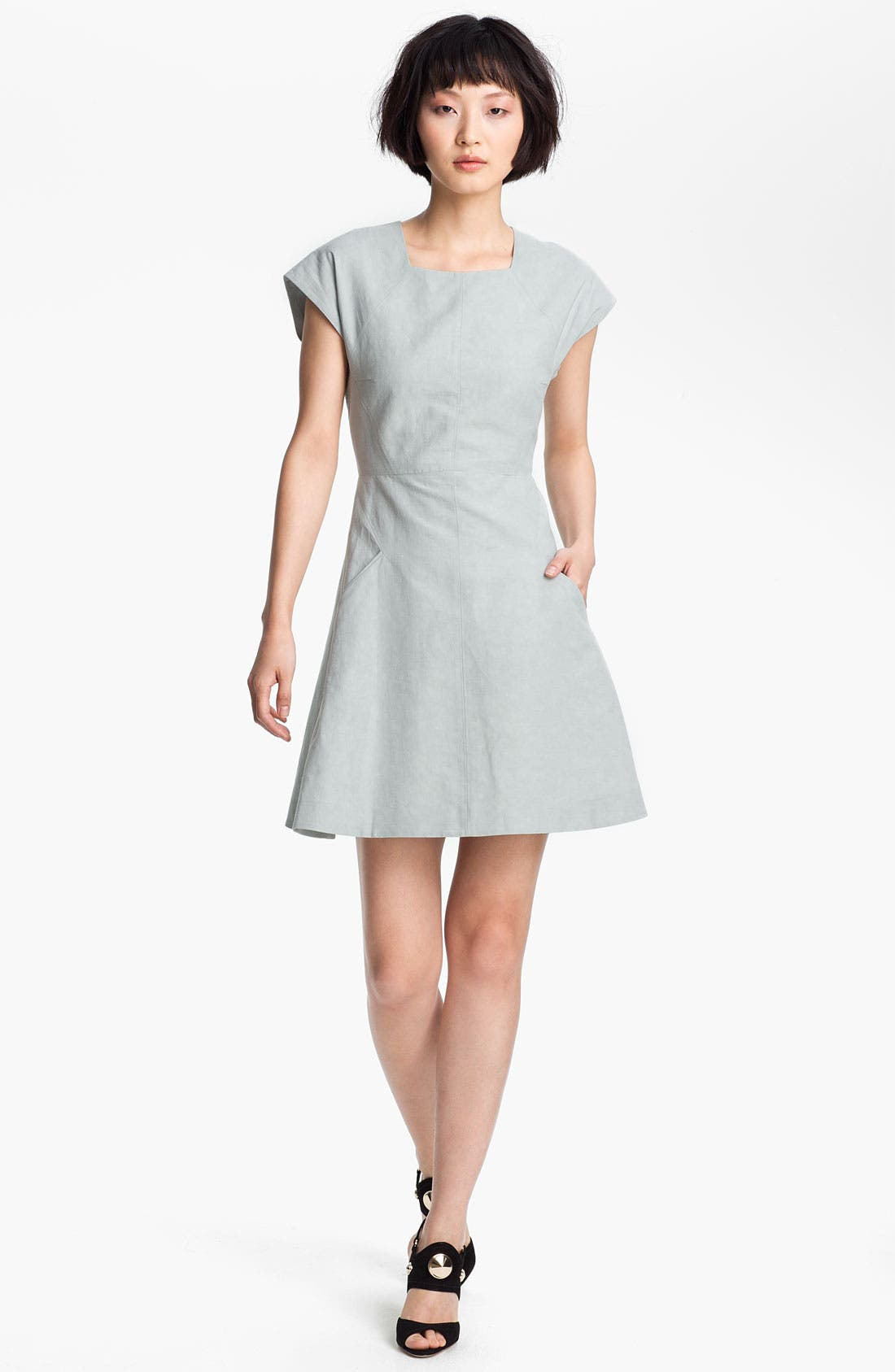 Main Image - Theyskens' Theory 'Dabor Fescape' Dress