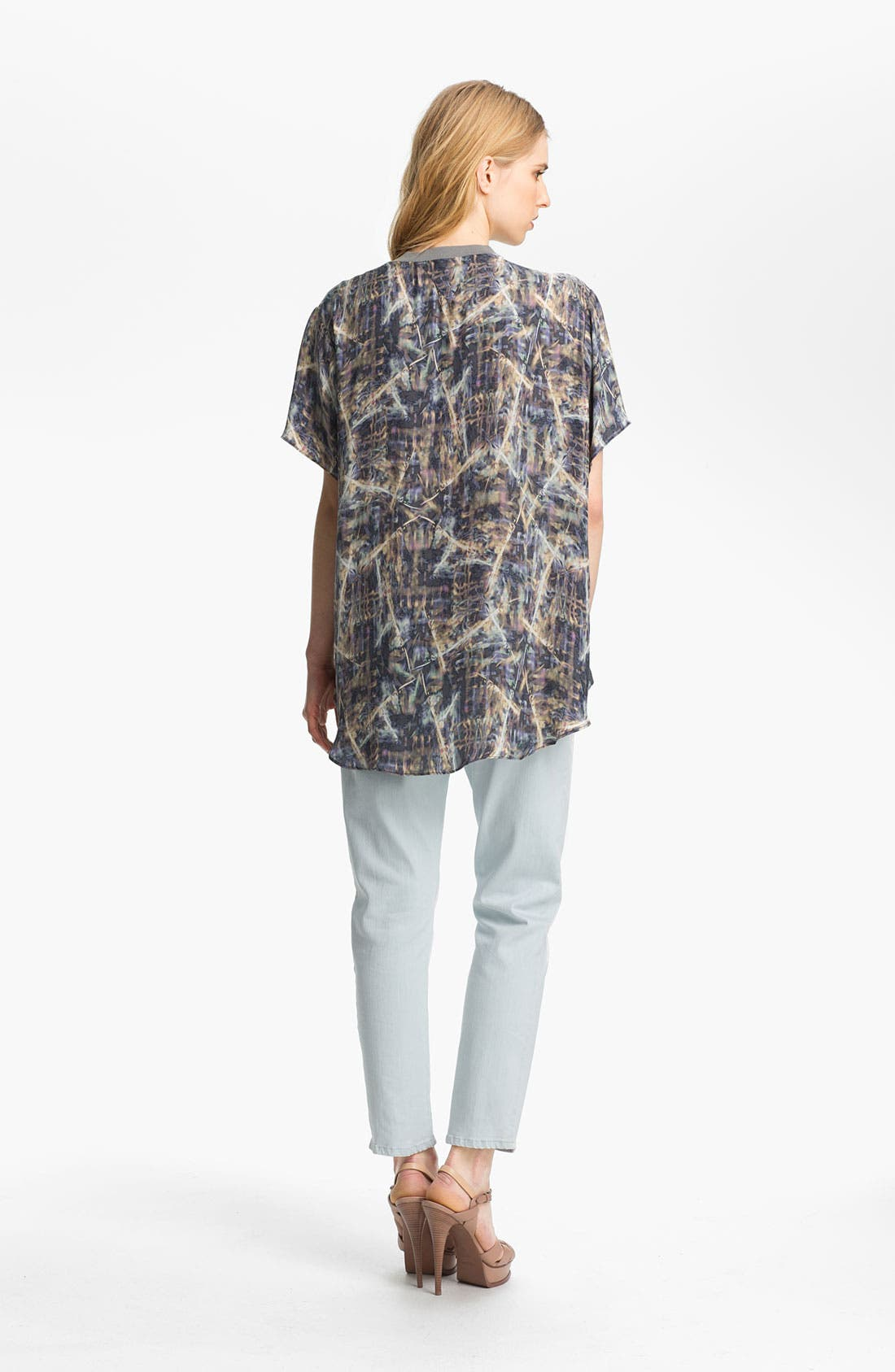 Alternate Image 4  - Theyskens' Theory 'Bonit Iflash' Silk Tee