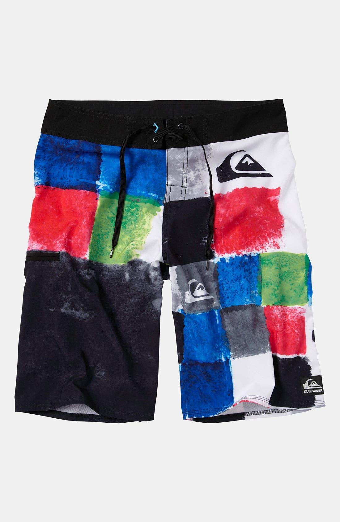 Main Image - Quiksilver 'Plasma' Board Shorts (Big Boys)