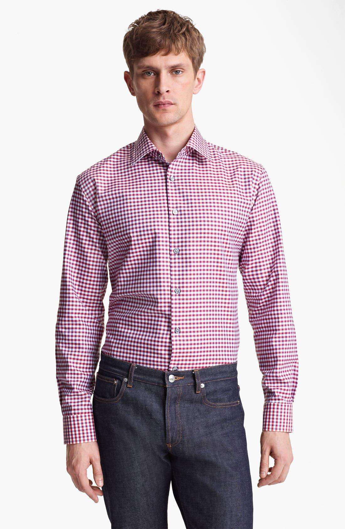 Main Image - Paul Smith London Multi Gingham Shirt