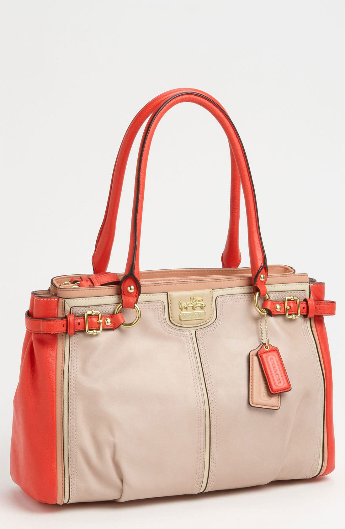 Alternate Image 1 Selected - COACH 'Madison - Kara' Colorblock Satchel