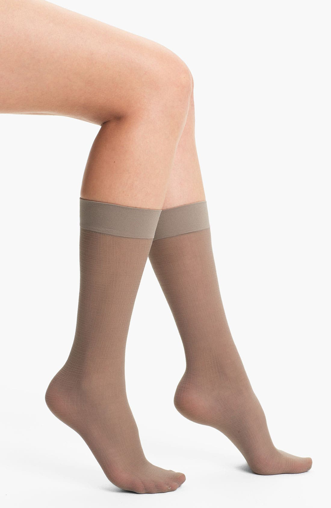 Alternate Image 1 Selected - Nordstrom 'Check It Out' Trouser Socks