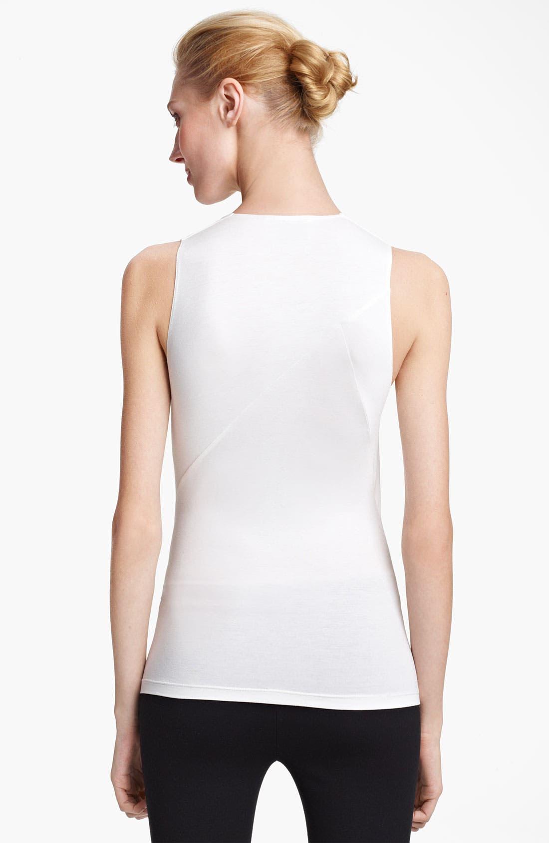 Alternate Image 2  - Donna Karan Collection Mélange Jersey Tunic