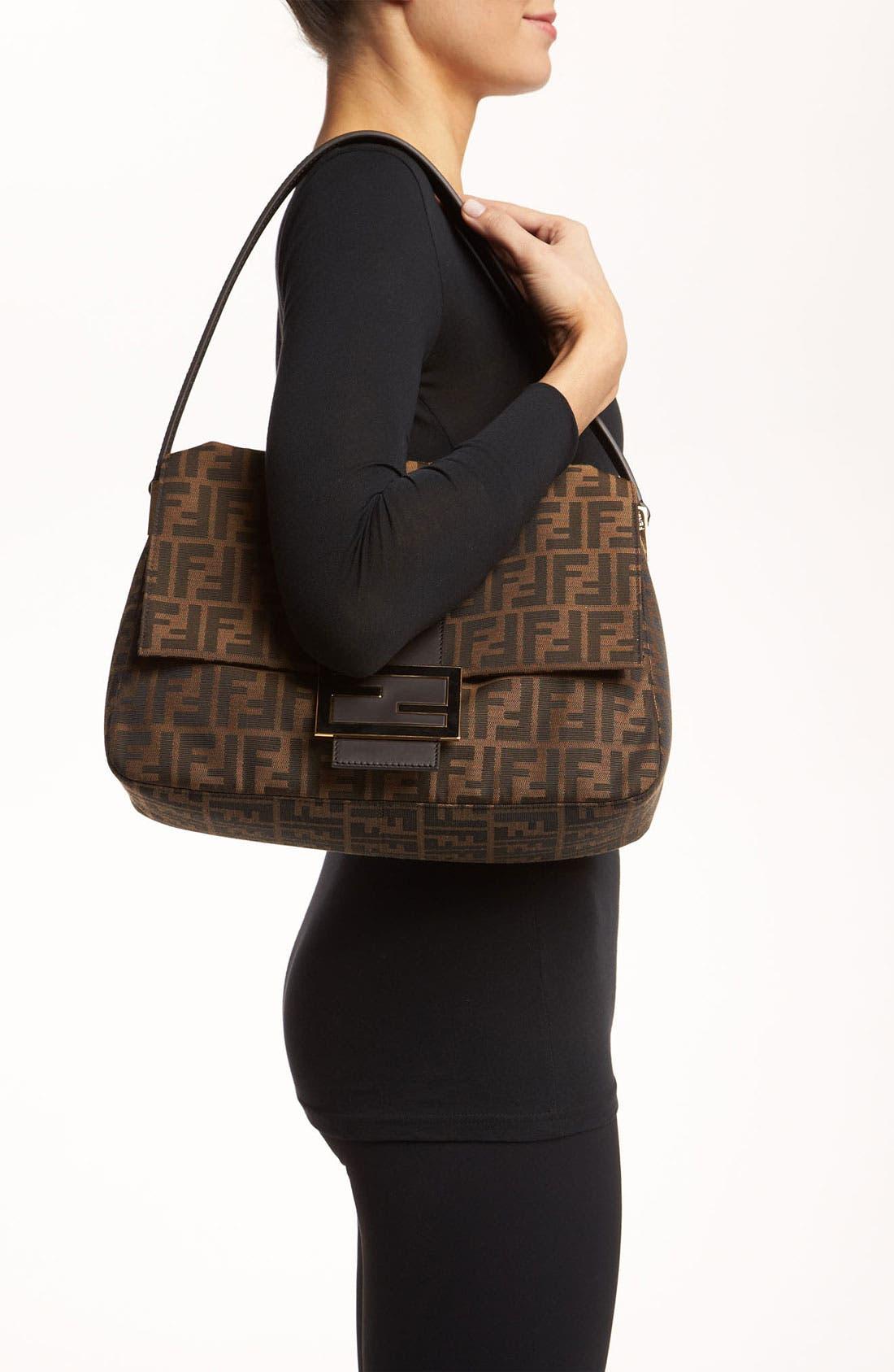 Alternate Image 2  - Fendi 'Zucca - Big Mama' Flap Bag