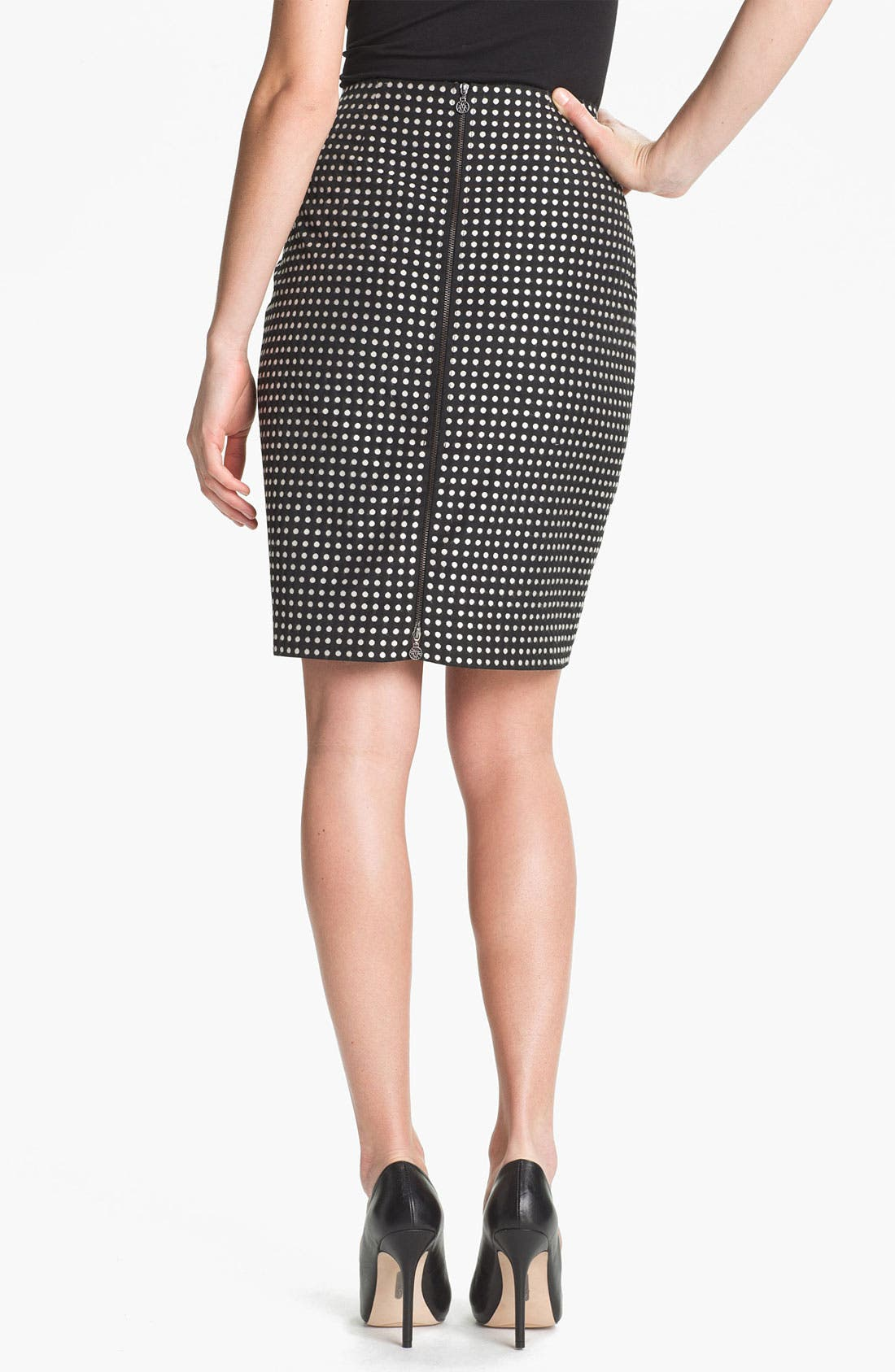 Alternate Image 2  - Anne Klein Polka Dot Skirt