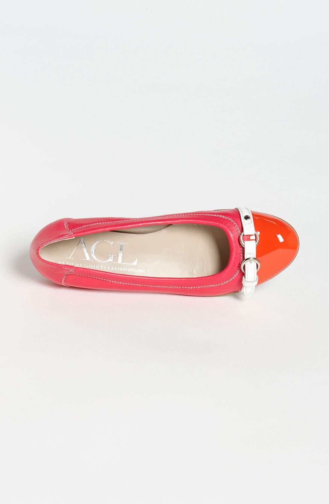 Alternate Image 3  - Attilio Giusti Leombruni Toe Cap Ballet Flat