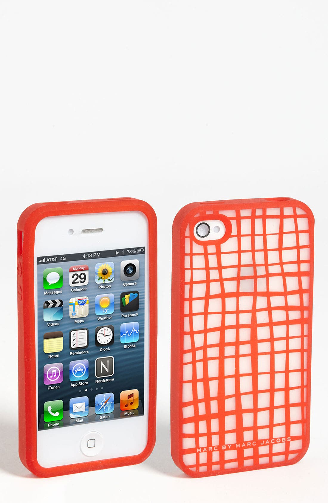 Alternate Image 1 Selected - MARC BY MARC JACOBS 'Andie' Check iPhone 5 & 5S Case
