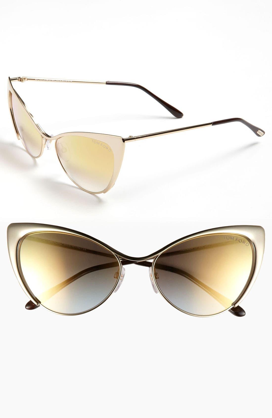 Main Image - Tom Ford 'Nastasya' 56mm Sunglasses