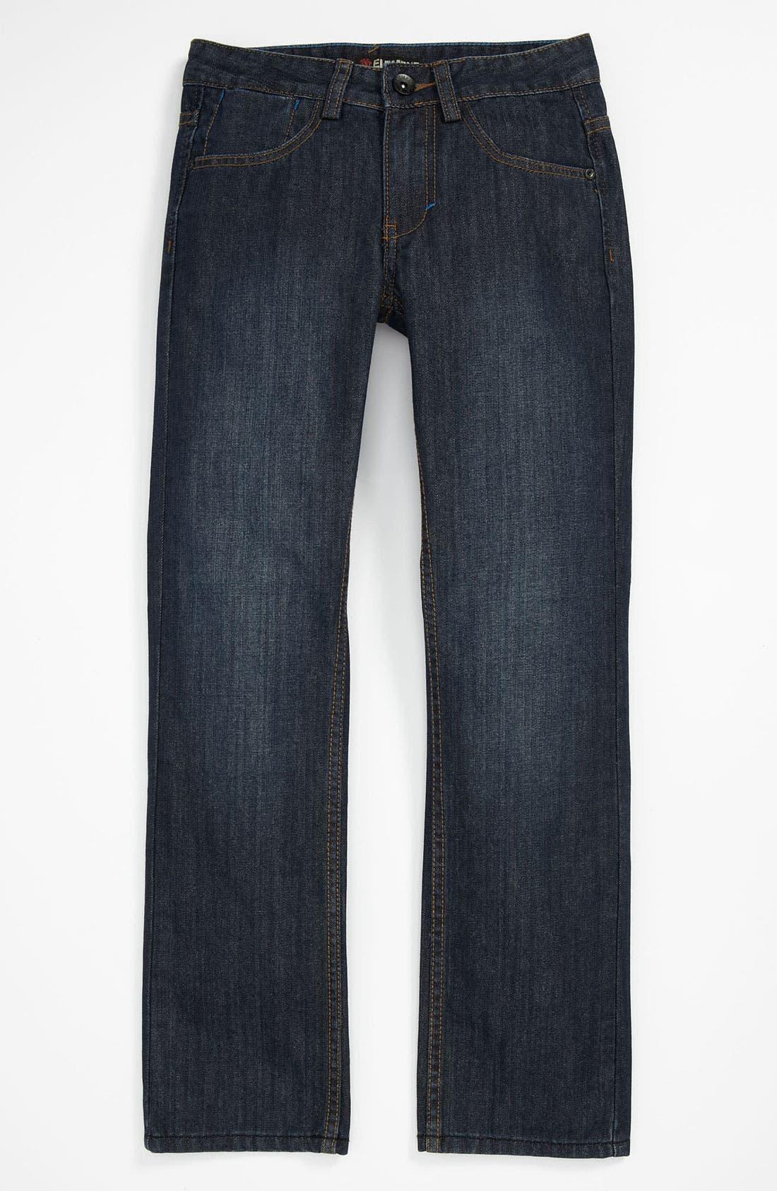 Alternate Image 2  - Element 'Wyatt' Straight Leg Jeans (Big Boys)
