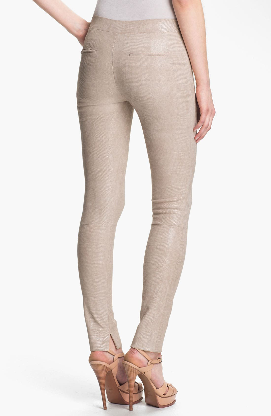 Alternate Image 2  - J Brand Ready-to-Wear 'Bette' Textured Leather Pants