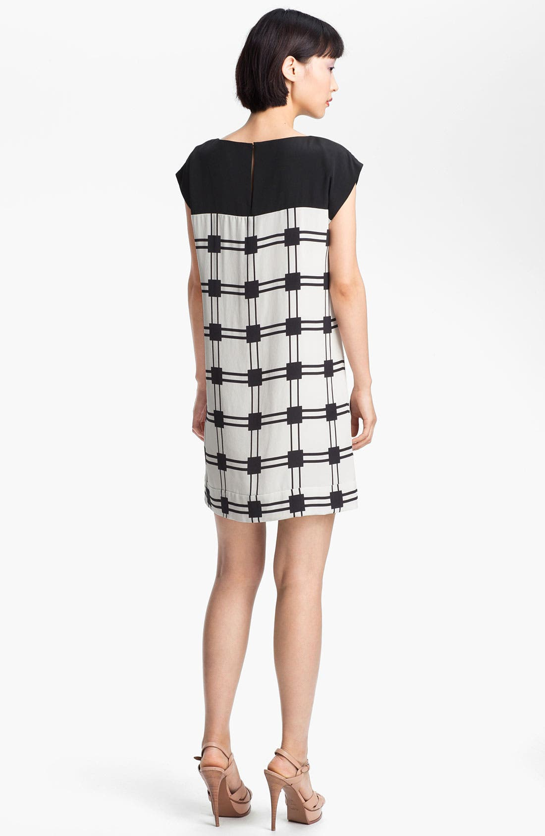 Alternate Image 2  - Tibi 'Marcel' Check Shift Dress