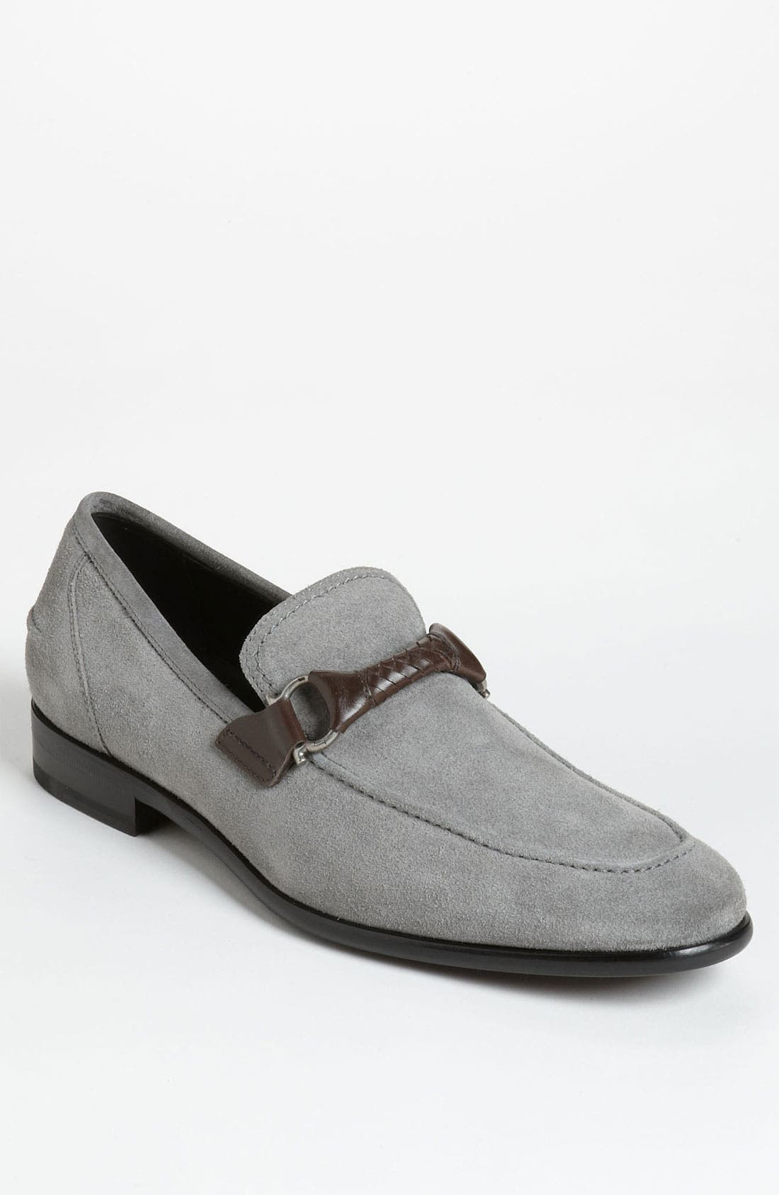 Alternate Image 1 Selected - Salvatore Ferragamo 'Twist 2' Bit Loafer