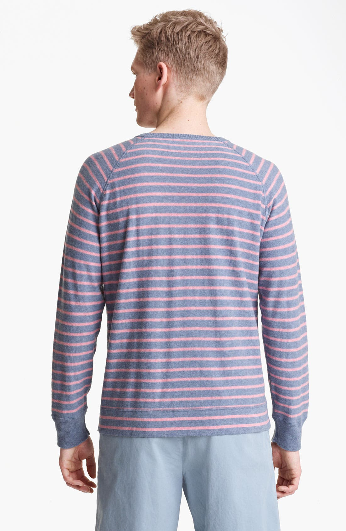 Alternate Image 2  - Save Khaki Stripe Sweater