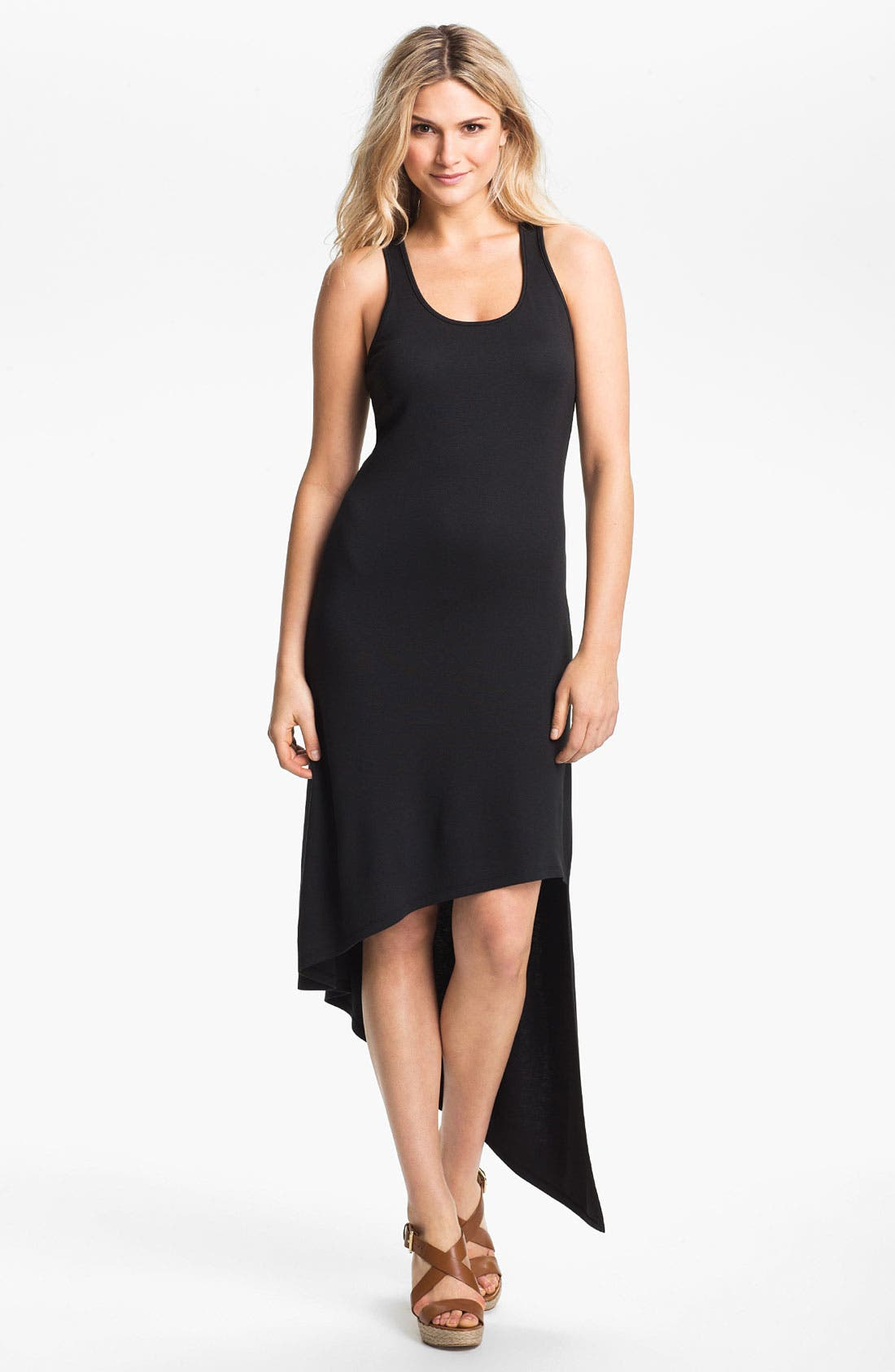 Alternate Image 1 Selected - MICHAEL Michael Kors Asymmetrical Hem Dress