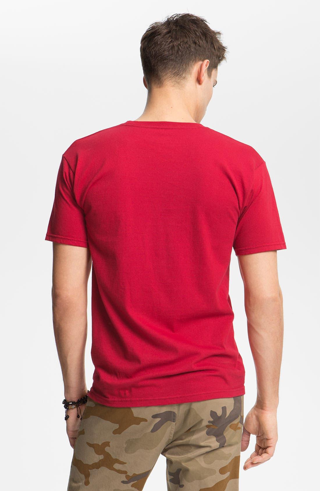 Alternate Image 2  - Brixton 'Rattle 11' Graphic T-Shirt