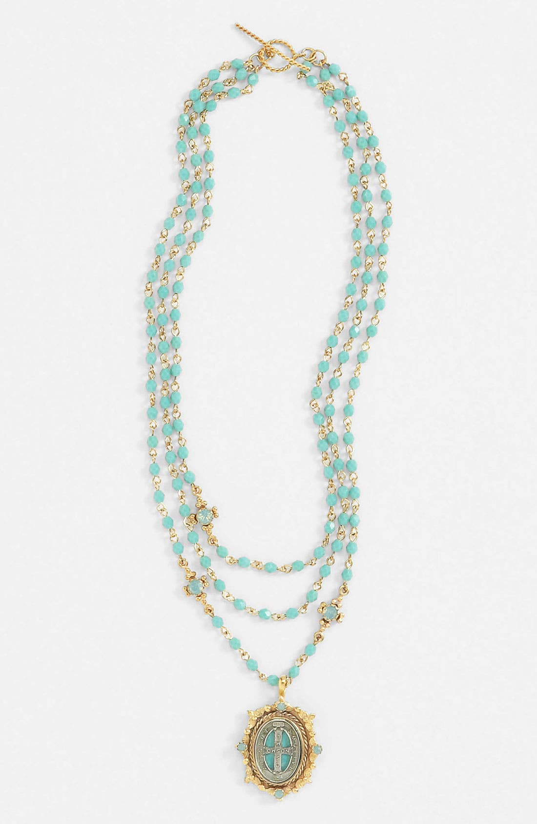 Main Image - Virgins Saints & Angels 'Oval Magdalena' Necklace (Nordstrom Exclusive)