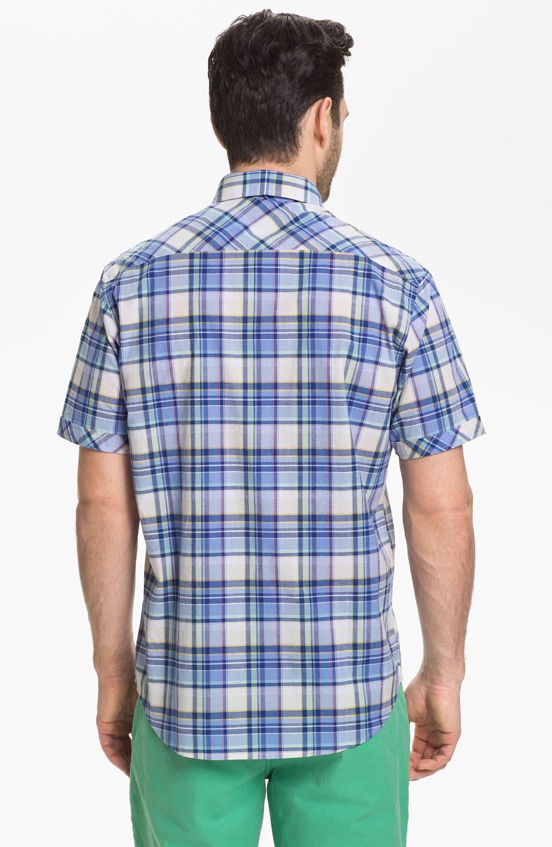 Alternate Image 2  - James Campbell 'Odell Plaid' Sport Shirt