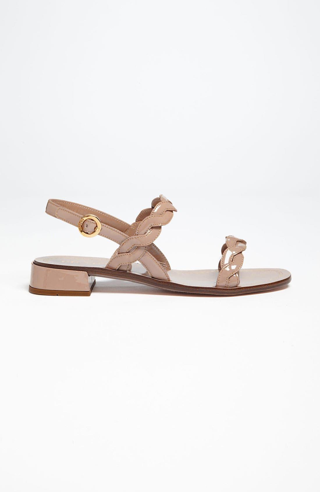 Alternate Image 4  - Prada Braided Two Strap Sandal
