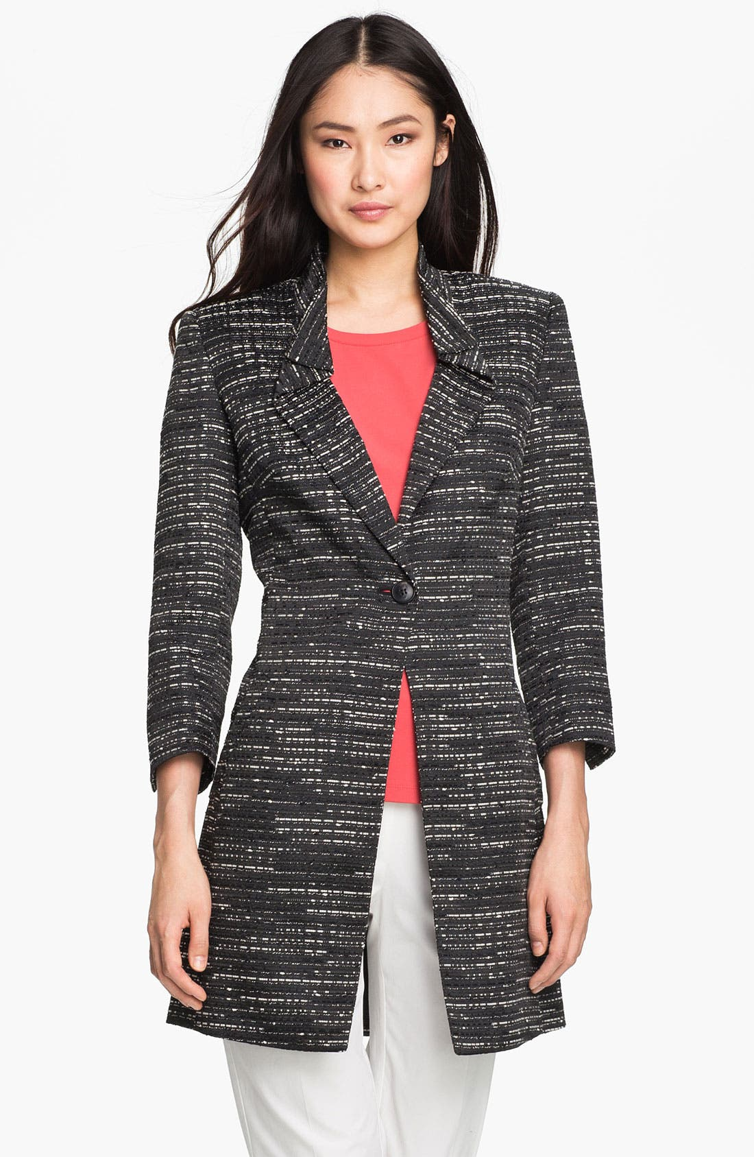 Alternate Image 1 Selected - Lafayette 148 New York 'Orion' Long Jacket