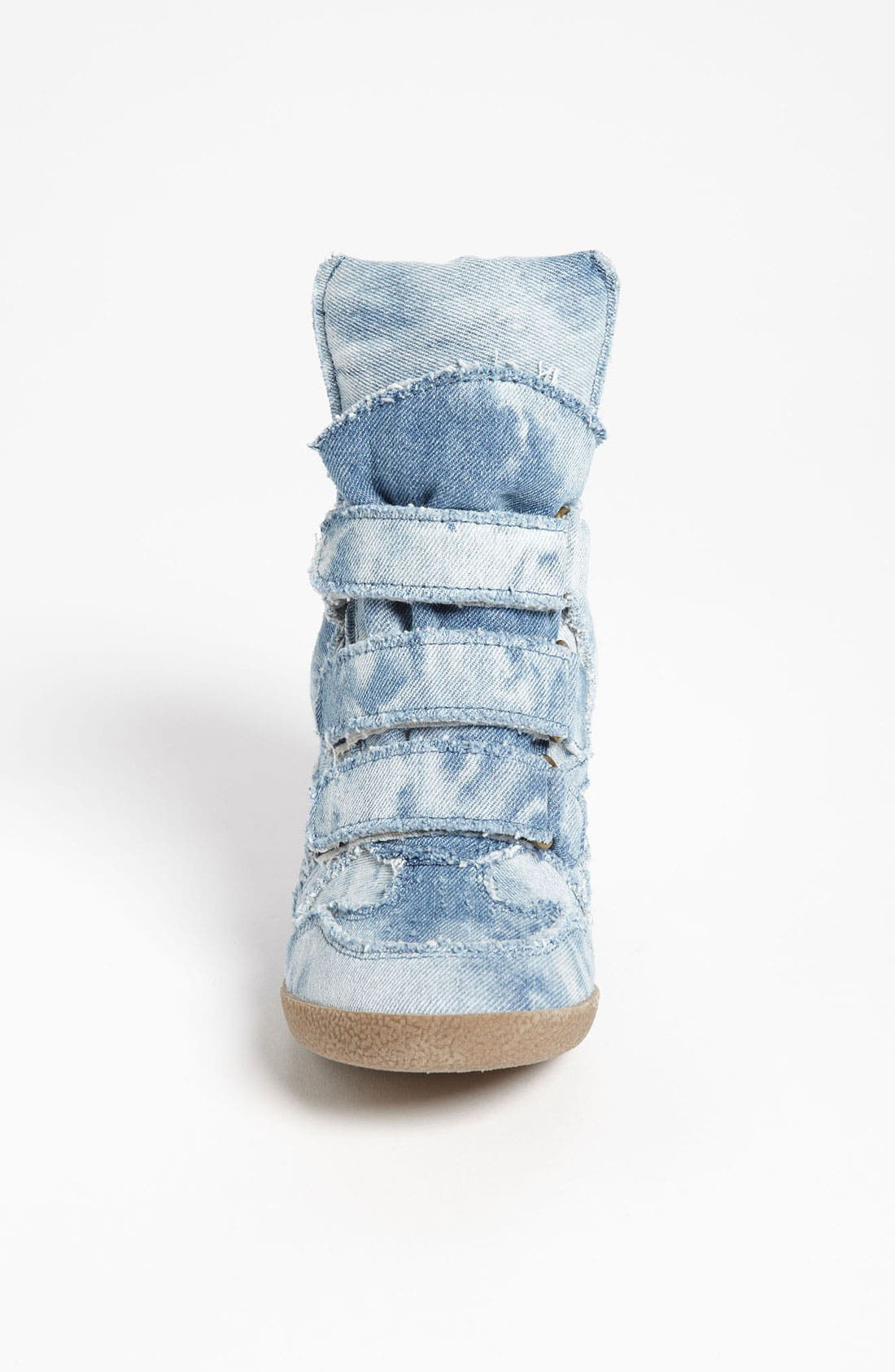'Hilite-C' Wedge Sneaker,                             Alternate thumbnail 3, color,                             Denim