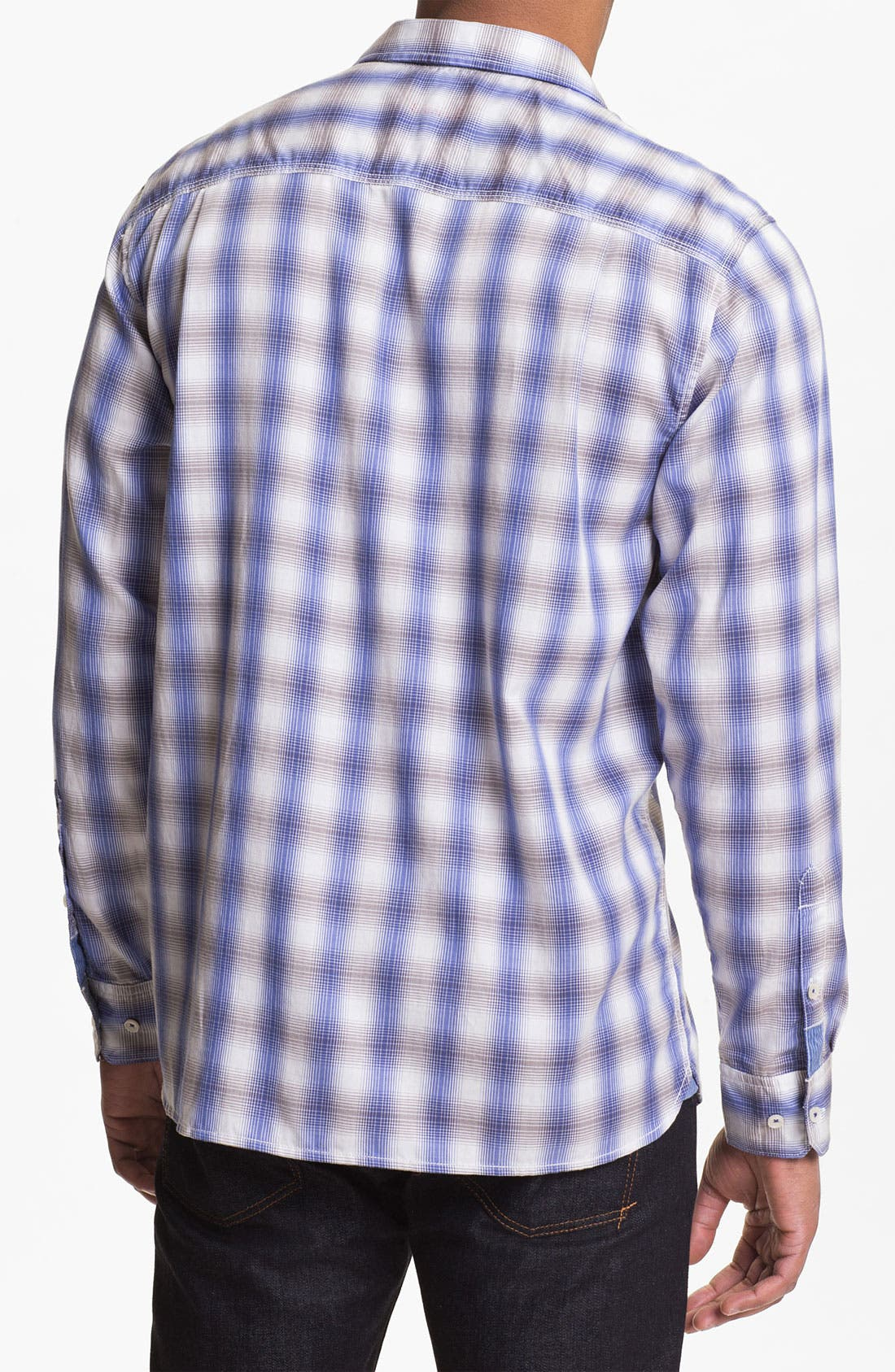 Alternate Image 2  - Tommy Bahama 'San Pancho Plaid' Island Modern Fit Sport Shirt