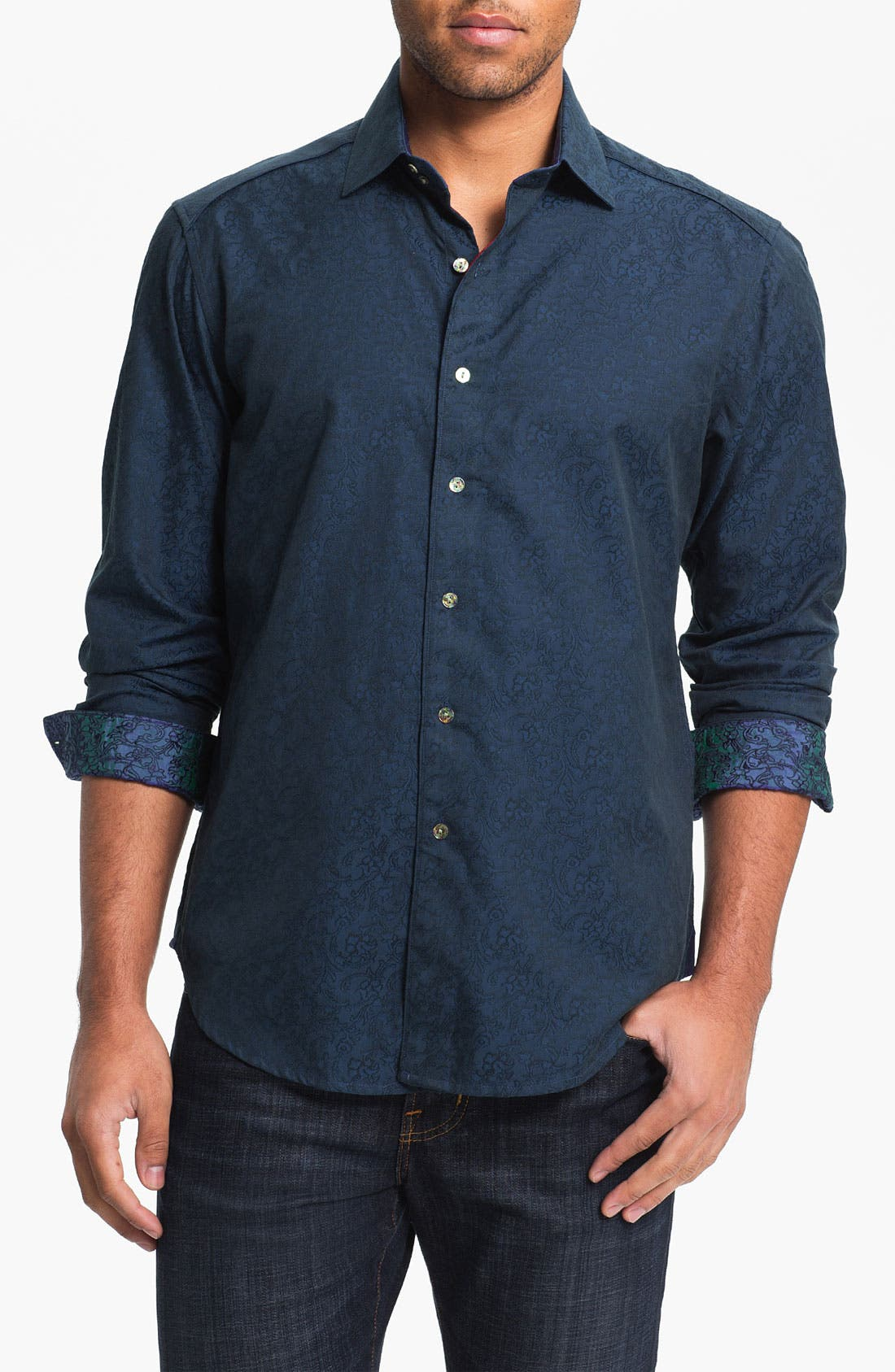 Alternate Image 1 Selected - Robert Graham 'Back Flip' Sport Shirt