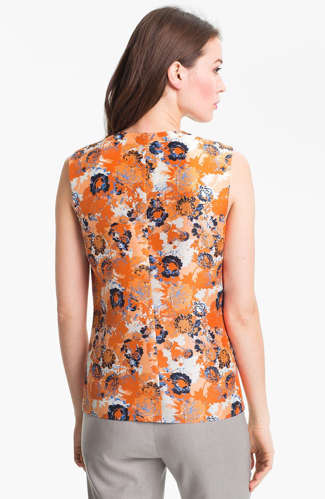 Alternate Image 2  - BOSS HUGO BOSS 'Lena 3' Sleeveless Silk Blouse
