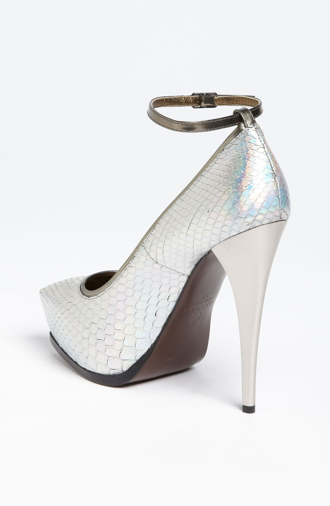 Alternate Image 2  - Lanvin Pointy Toe Python Pump