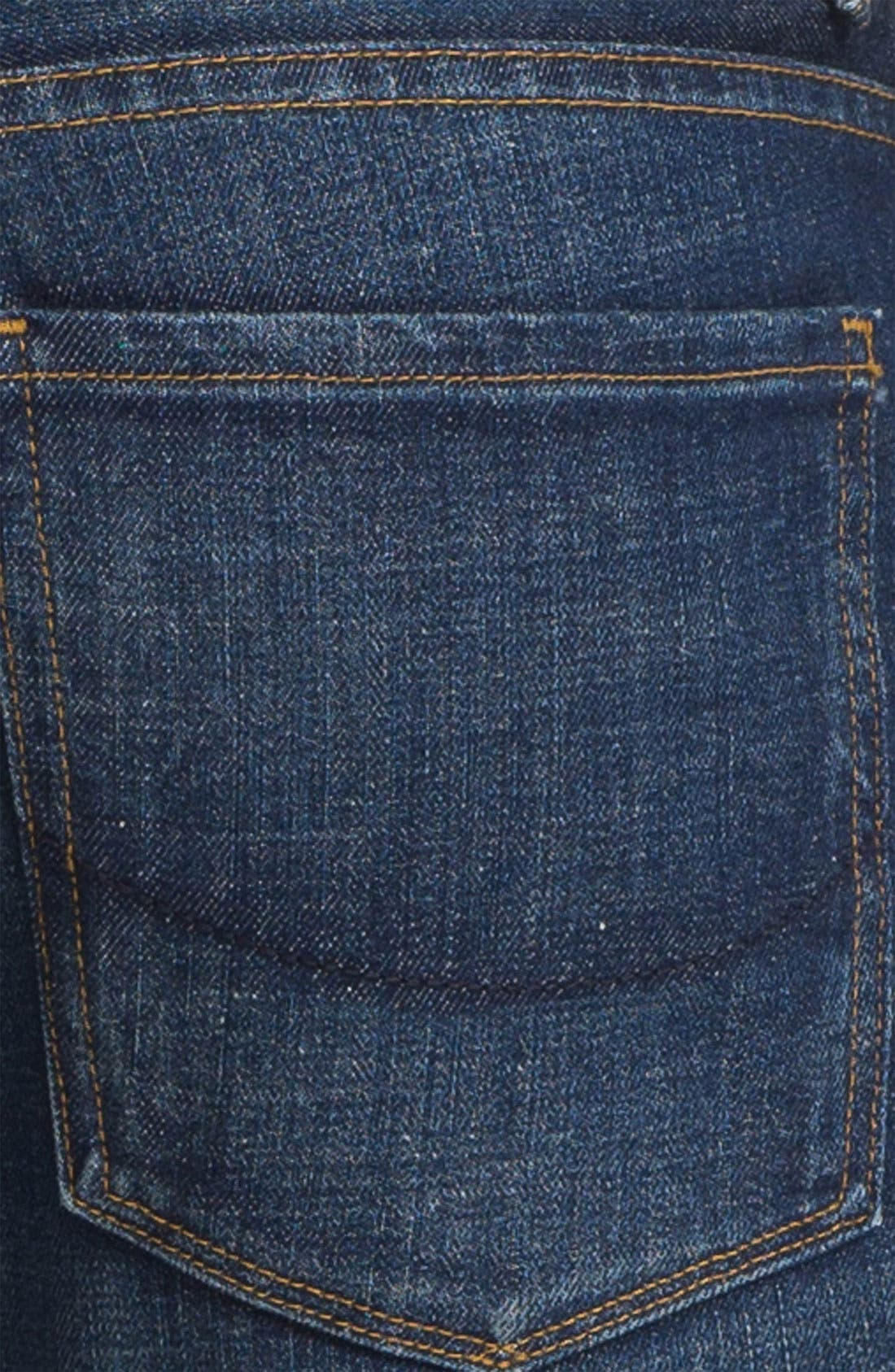 Alternate Image 4  - PAIGE 'Federal' Slim Straight Leg Jeans (Shoreman)