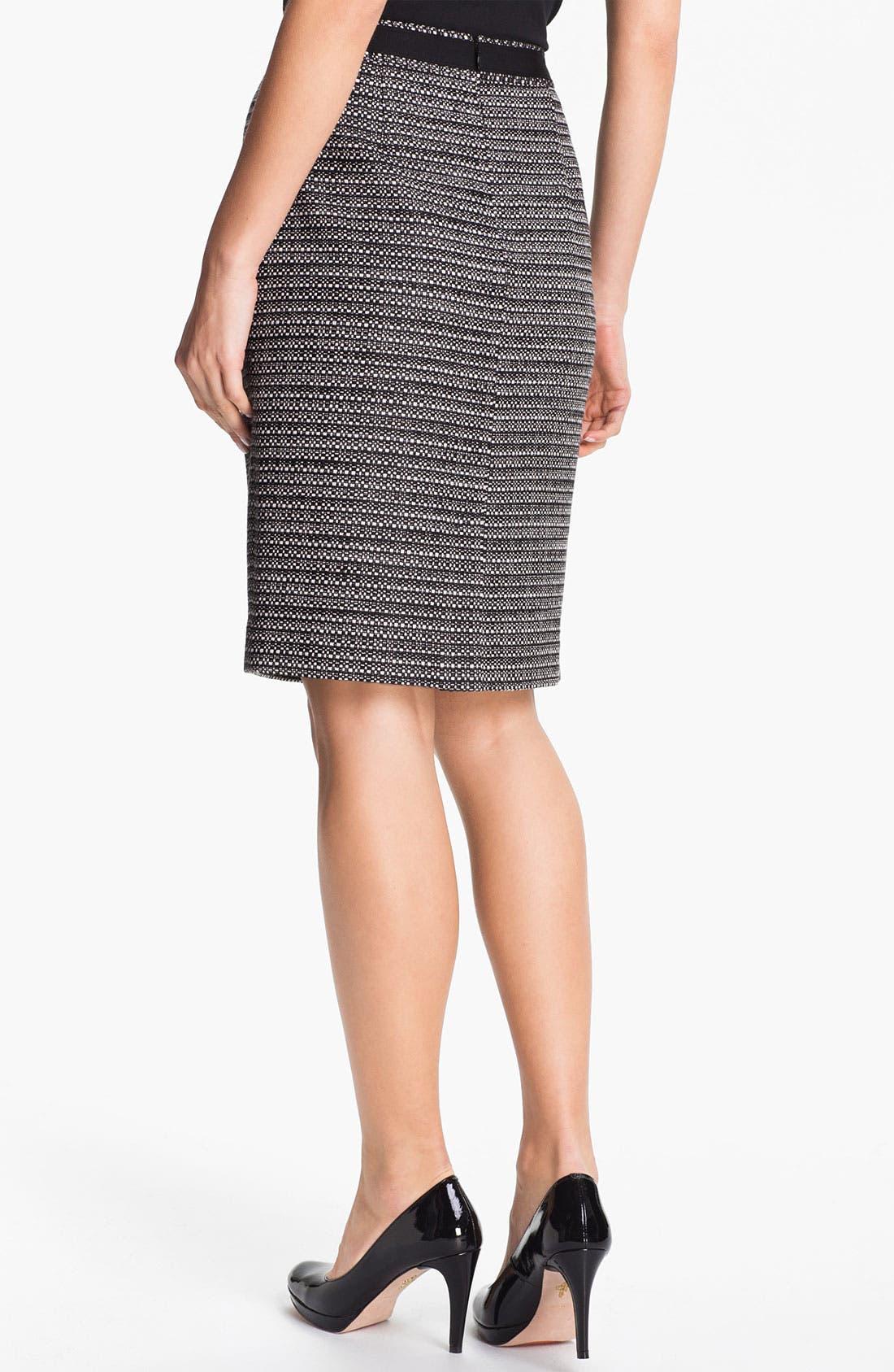 Alternate Image 2  - Classiques Entier® Box Tweed Skirt