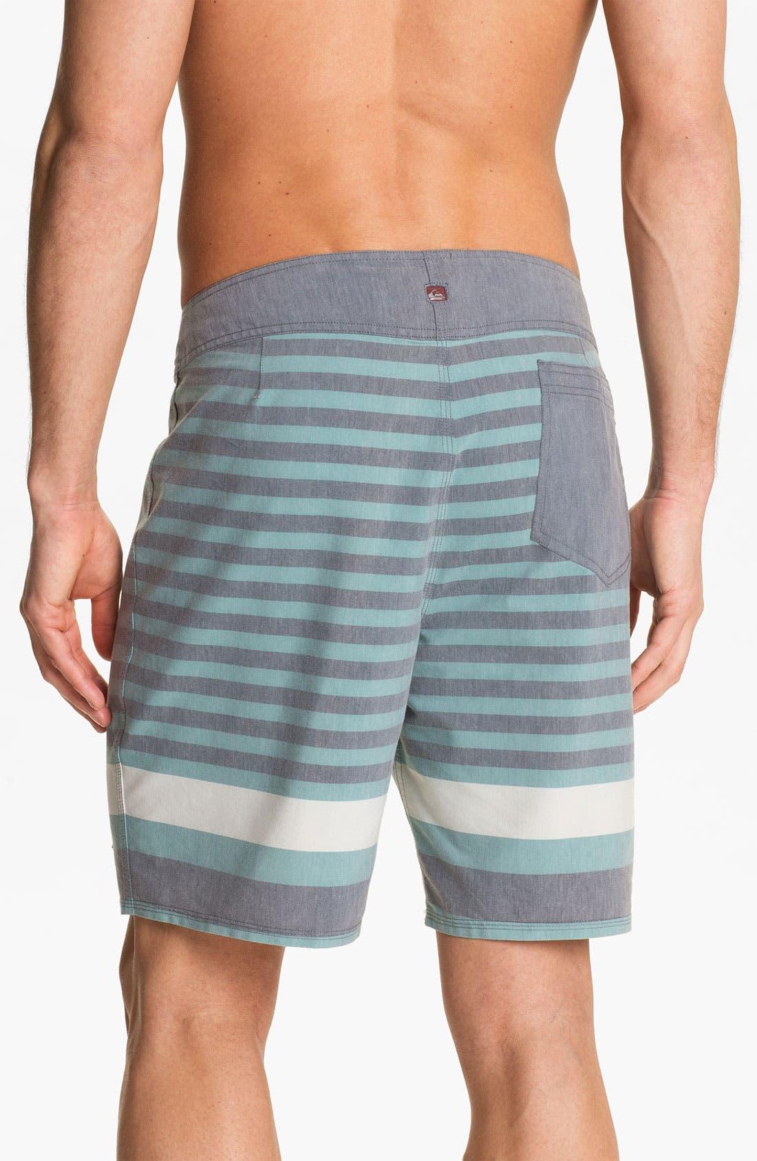 Alternate Image 2  - Quiksilver 'Biarritz' Stripe Board Shorts