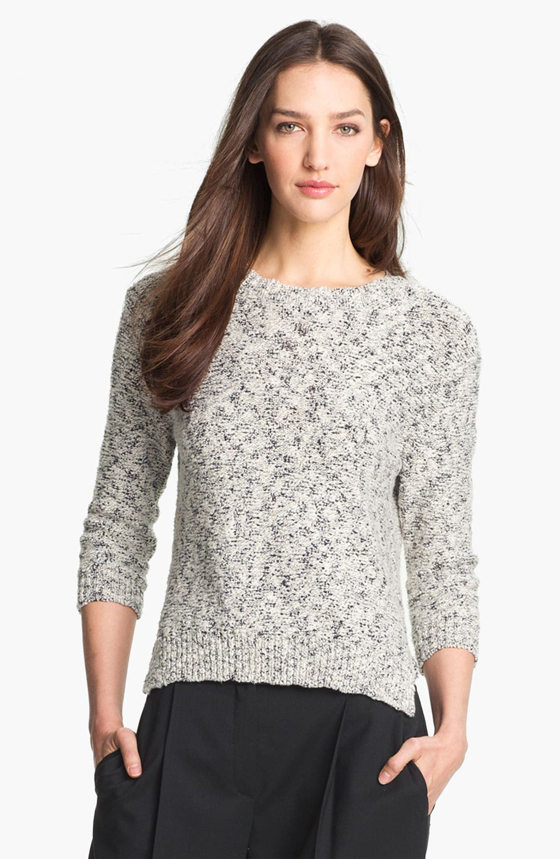 Main Image - Theory 'Rainee' Cotton Blend Sweater