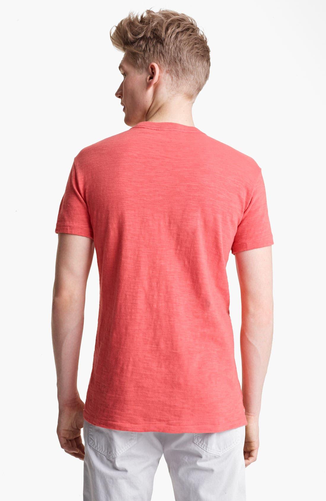 Alternate Image 2  - rag & bone Square Print Graphic T-Shirt