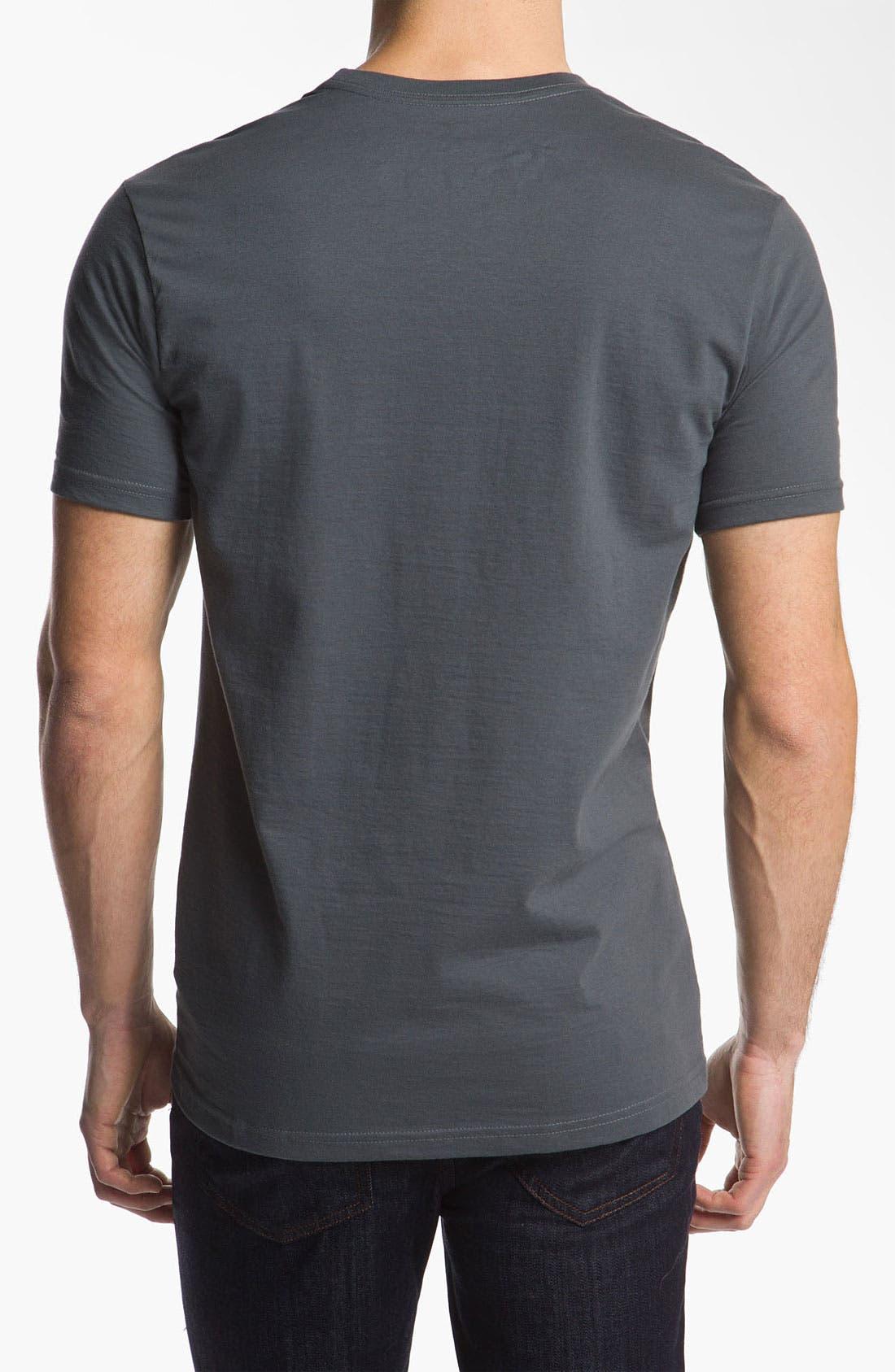 Alternate Image 2  - RVCA 'Fade' Graphic T-Shirt