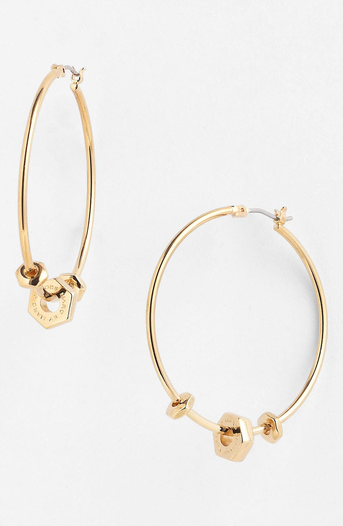 Alternate Image 1 Selected - MARC BY MARC JACOBS 'Bolts' Hoop Earrings
